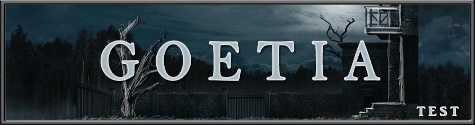 Goetia - Le Test