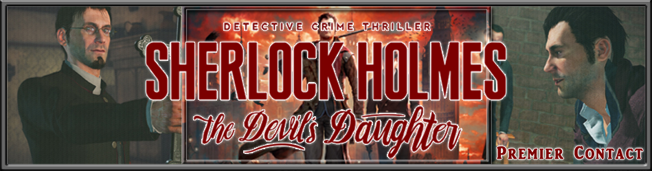 Sherlock Holmes The Devil's Daughter - Premier Contact