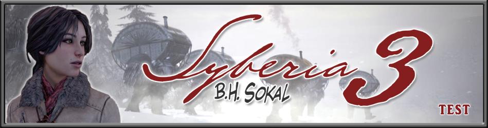 Syberia 3 - Le Test